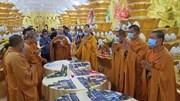 Chùa Kỳ Quang 2 mở niêm phong hầm chứa tro cốt để nhận diện ngày 9/9