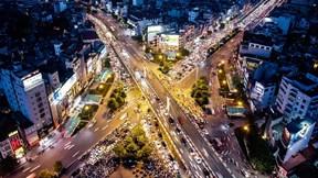 Ùn tắc từ sáng đến tối ở 'ngã tư khổ' giữa Thủ đô
