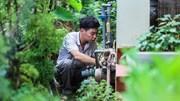 Một gia đình ở Hà Nội dùng 3 giếng khoan, 5 máy bơm vẫn không đủ nước sạch