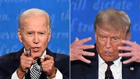 Những khoảnh khắc kịch tính trong cuộc tranh luận Trump - Biden