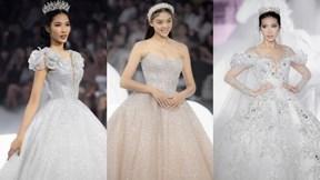Bạn gái Bùi Tiến Dũng hóa cô dâu lộng lẫy khi diện váy cưới