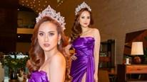 Hoa hậu Khánh Ngân phản bác thông tin bí mật sinh con cho đại gia