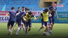 HAGL để lộ bài tập 'đặc biệt', Văn Toàn quyết tâm thắng Viettel