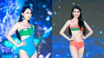 Top 40 Hoa hậu VN 2020 rực lửa trình diễn bikini, nhiều người suýt ngã