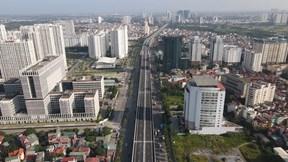 Khánh thành cầu cạn Mai Dịch - Nam Thăng Long chuẩn cao tốc