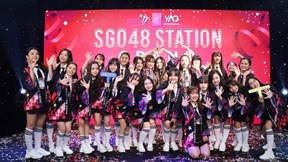 Nhóm nhạc Việt đông thành viên nhất 'chơi trội' dựng sân khấu riêng