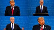 Tranh luận Trump - Biden: Những khoảnh khắc 2 ứng viên đối đầu 'chan chát'