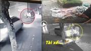 Truy tìm tài xế xe Innova lao lên vỉa hè, tông tử vong cụ bà rồi bỏ chạy