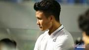 Quang Hải và đồng đội thất thần, mắt đỏ hoe khi Hà Nội tuột ngôi vô địch