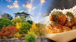 'Dọn' sẵn bụng để khám phá Osaka - 'nhà bếp của Nhật Bản'