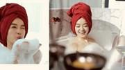 Kaity Nguyễn khoe trọn vóc dáng gợi cảm với làn da trắng hồng