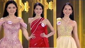 Top 15 thí sinh Hoa hậu Việt Nam 2020 lộng lẫy trong trang phục dạ hội