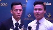 Quang Hải, Văn Quyết nói gì khi giành các hạng mục xuất sắc nhất V.League?