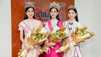 Á hậu Phương Anh ấn tượng 'nụ cười tỏa nắng' của Hoa hậu Đỗ Thị Hà