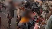 Đánh phụ nữ giữa đường, chàng trai bị 2 người đàn ông 'xử nóng' tại chỗ