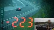 Tài xế lái BMW phóng 223 km/h nói gì với CSGT khi bị phạt 11 triệu đồng?