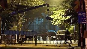 Di dời thành công quả bom nặng 340 kg ở phố Cửa Bắc