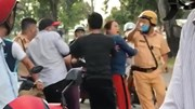 TP.HCM: Bắt giữ nhóm người hành hung CSGT tại Bình Chánh