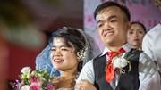 46 cặp đôi hạnh phúc trong lễ cưới tập thể 'Giấc mơ có thật'