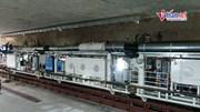 Robot đào hầm dài 100m, nặng 850 tấn thi công metro Nhổn-Ga HN