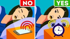 Dừng ngay thói quen đặt báo thức bằng điện thoại vì những tác hại không ngờ