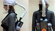 Cận cảnh mũ thở khí tươi ngăn Covid-19 do ĐH Bách khoa chế tạo