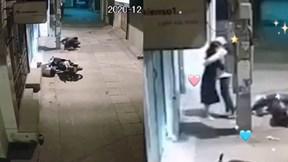 Cái ôm tình cảm của 2 cô gái sau va chạm giao thông