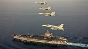 Hình ảnh hiếm bên trong tàu sân bay như thành phố nổi của Hải quân Mỹ