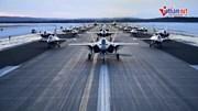 Xem dàn tiềm kích tàng hình tối tân nhất của Mỹ phô diễn uy lực ở Bắc Cục