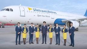 Trang phục lịch lãm của Vietravel Airlines