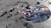 Thời tiết -26 độ C, ngư dân và du khách câu gần 500 tấn cá dưới hồ băng