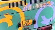 Camera 'bắt quả tang' xe khách che biển số trên cao tốc Nội Bài – Lào Cai