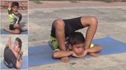 Xem thần đồng yoga 8 tuổi dễ dàng thực hiện các động tác cực khó