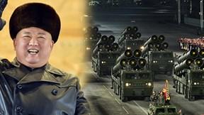 Xem lễ duyệt binh hoành tráng, NLĐ Kim tươi cười trước dàn  vũ khí 'khủng'