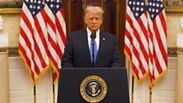 TT Trump nói lời tạm biệt, nhận là 'người ngoại tộc', chọn lối đi khó nhất