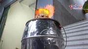 9x sáng chế lò hóa vàng đa năng không khói, bụi