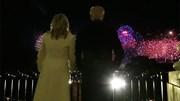 Pháo hoa rực sáng  bầu trời Washington kết thúc lễ nhậm chức của TT Biden