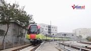 Đoàn tàu đường sắt Nhổn - ga Hà Nội chính thức lăn bánh