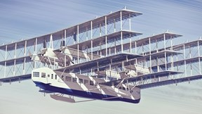 Sứ mệnh đặc biệt của máy bay khổng lồ 9 cánh, 8 động cơ hạng khủng