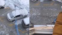 Người đàn ông Trung Quốc 'dắt' chó đi dạo từ cửa sổ tầng 4