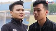 Quang Hải, Thành Chung nói gì khi V.league tạm hoãn do Covid-19