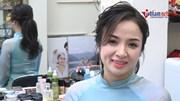 Những kiểu tóc kết hợp cùng áo dài hot nhất năm cho cô quý Hà Thành
