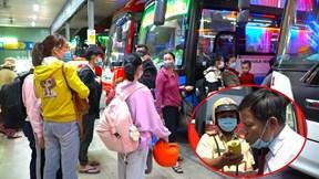 TP.HCM: Sinh viên đổ xô về quê, CSGT thắt chặt giao thông các bến xe