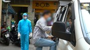 Phong tỏa quán cafe ở Bùi Viện, đưa 4 người đi cách ly tập trung