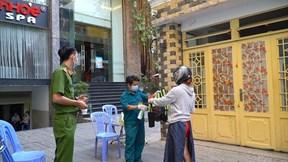 BN1883 tiếp xúc 10 nhân viên tiệm massage ở TP.HCM, cách ly gần 20 người