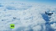 Xem máy bay chiến đấu Nga 'đuổi' máy bay Pháp ở Biển Đen