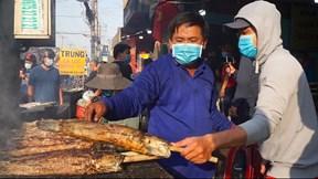 TP.HCM: Nướng 3000 con cá lóc, nhiều quán vẫn 'cháy hàng' ngày vía Thần Tài
