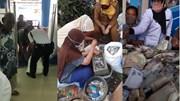 Ngân hàng dựng lều tạm để kiểm đếm 9 bao tải tiền lẻ của cụ ông 81 tuổi