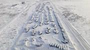 """Thị trấn """"ma"""" phủ đầy tuyết trắng, tĩnh lặng như thời gian bị """"đóng băng"""""""