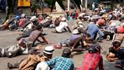 """Myanmar trải qua ngày """"đẫm máu"""", quân đội sẵn sàng đón lệnh trừng phạt"""